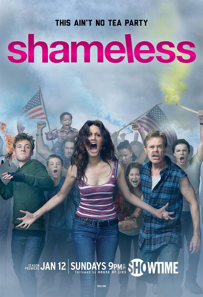 Shameless! One of the best shows in the world. :).....Funny as hell! #gottalovefrank