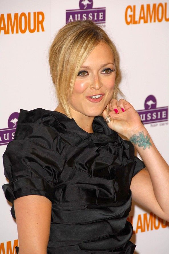 fearne cotton's leaf tattoo