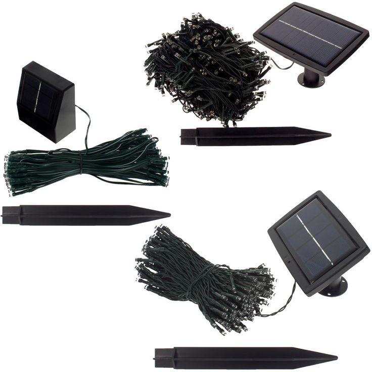 Solar Lichterkette 100-500 LED Gartenbeleuchtung Partybeleuchtung LED Kette