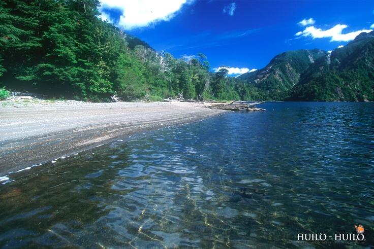 Pirehueico Lake. Huilo Huilo
