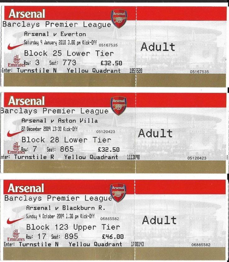 3 #arsenal #football tickets #2009-10 season v everton,aston villa,blackburn rove,  View more on the LINK: http://www.zeppy.io/product/gb/2/371854657608/