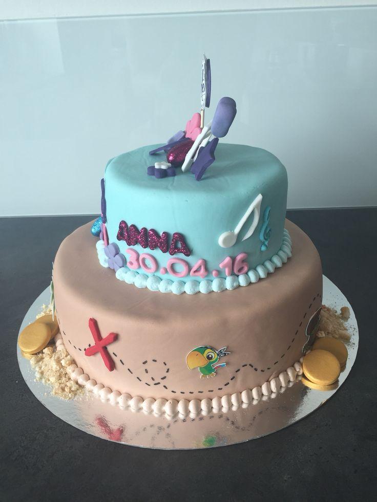 Konfirmations kage til Anna og Lucas