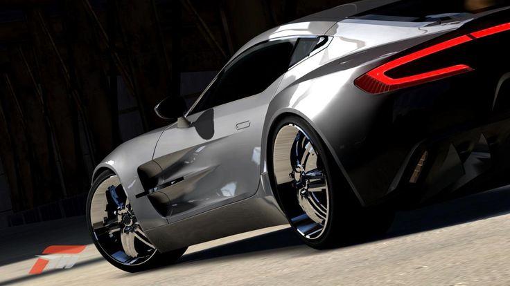 Aston Martin One-77 de kryo dans la vitrine de Forza Motorsport 3