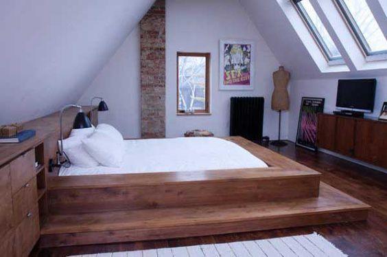 Bett selber bauen für ein individuelles Schlafzimmer-Design ...