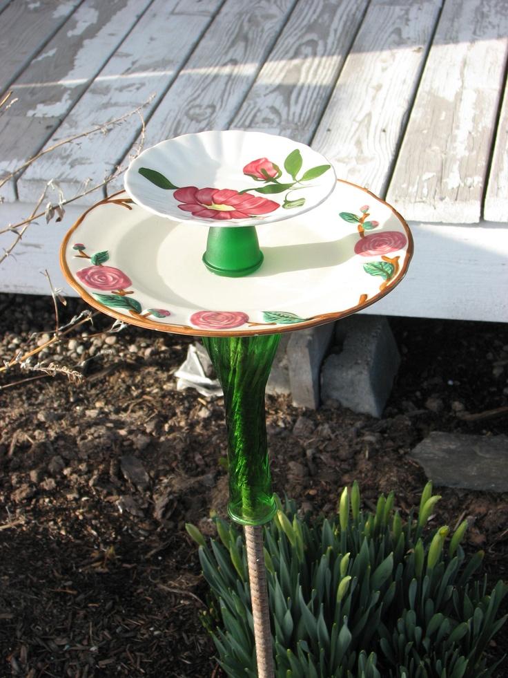 yard art for your flower garden