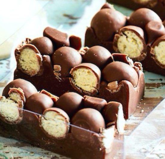 4 Ingredient Malteser Fudge No Bake Recipe
