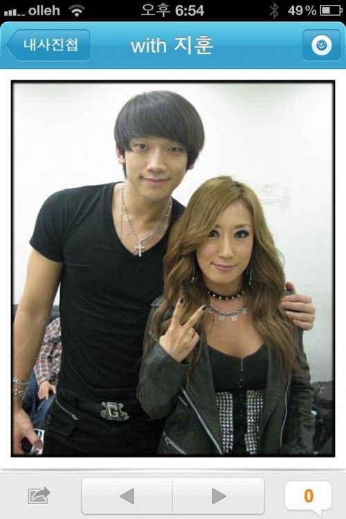 Longtime friend and dancer Bae Sangmi was kind enough to tweet this great shot of her and Rain last year. :): Dancers Bae, Great Shots, 29Rain Twitter, Longtim Friends, Twitter Favorite, Bae Sangmi