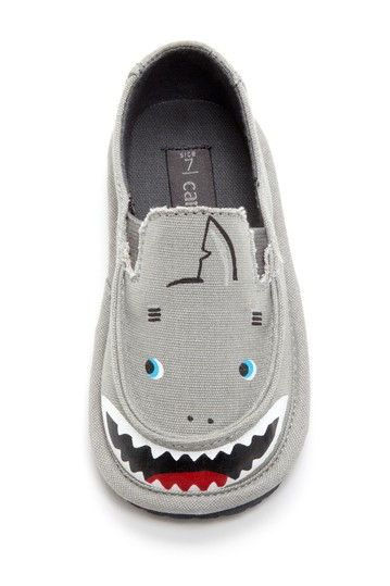 little tiny toddler shark shoe ... so cute!! wish they made this in adult sizes :)