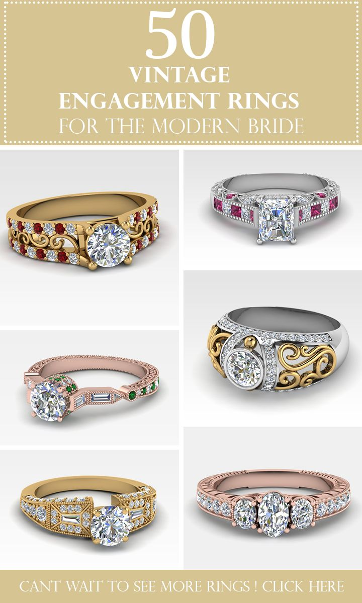 Explore Our Collection Of Antique Engagement Rings, Estate Engagement Rings,  Art Deco Engagement Rings