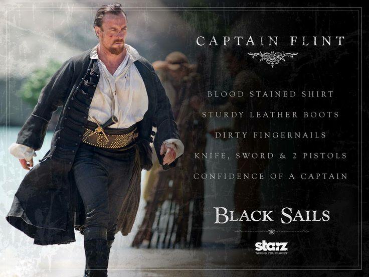 #Smiley360 #BlackSails #PiratesWanted ~Captain Flint: Black Sails