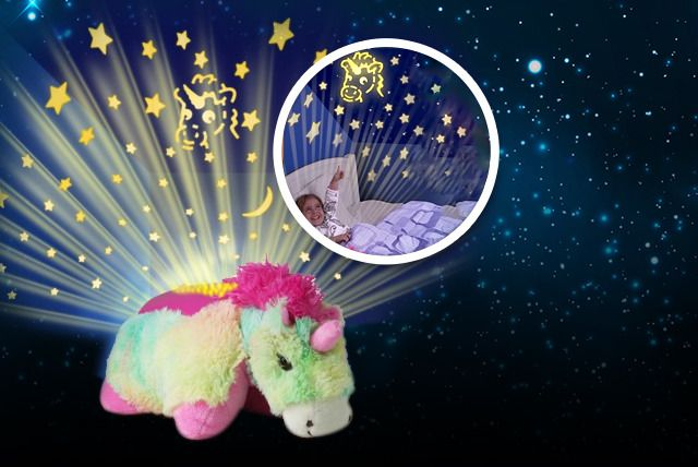 Save a starry 63% on a unicorn night light star projector!