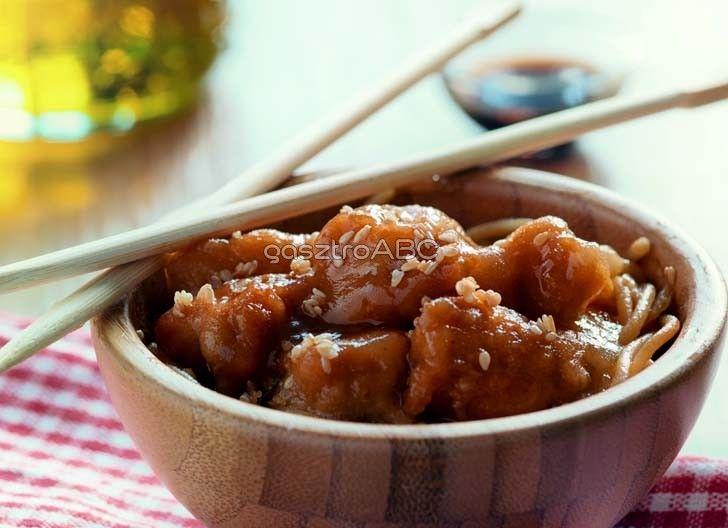 Kínai szezámmagos csirke | Receptek