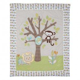 Quilt - Animal Tree