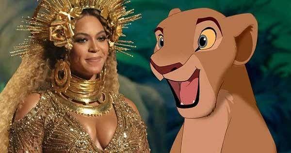 Beyoncé Será la  voz de  Nala en la Película de El Rey Leon