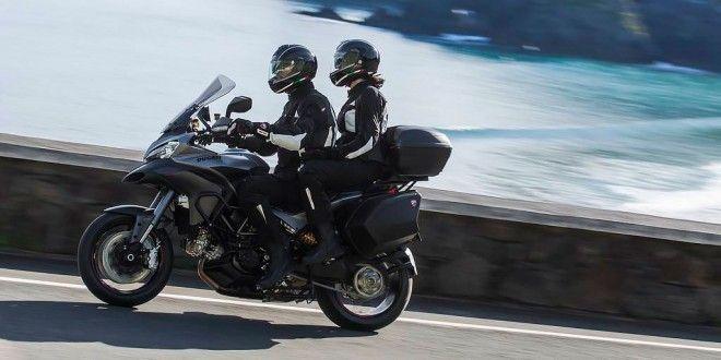 Equipaje para viajar en moto