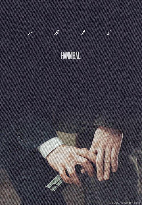 Hannibal episode posters ↳1x11 Rôti