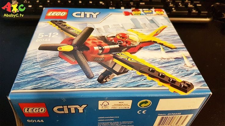Lego City 60144 unboxing building Air race lego pilot lego airplane