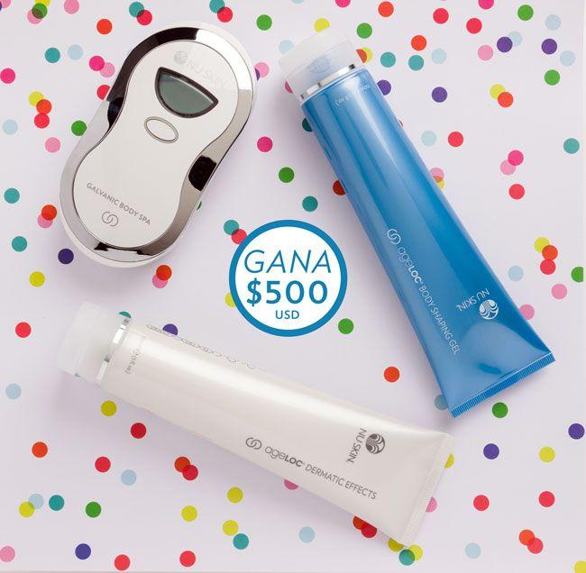 Quien quiere concursar!  EL RETO BODY SPA Participa en el Reto Body Spa Brazo y podrás ganar $500 dólares (USD) en efectivo y productos Nu Skin con su tecnología patentada ageLOC.  ☎️+ 57 3006776063