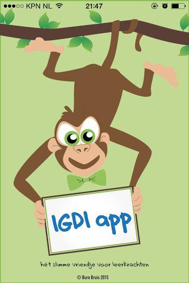 IGDI app voor directe instructie handvaten
