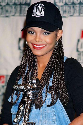 Janet Jackson Box Braids
