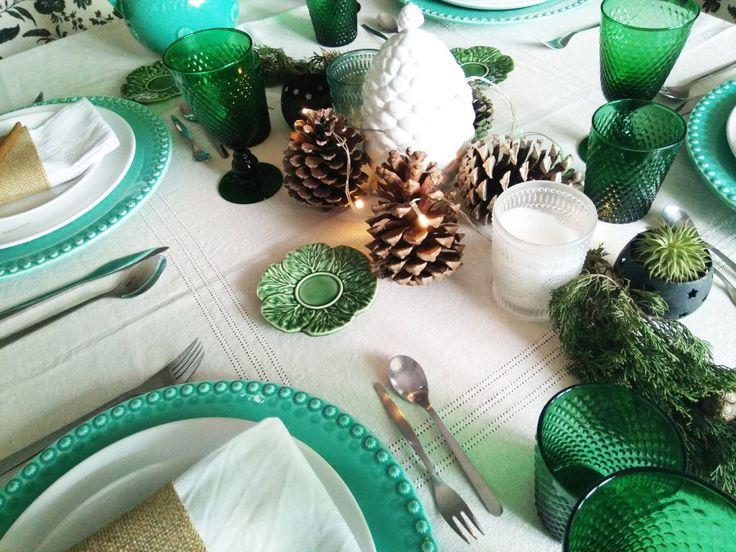 Uma mesa de Natal muito original http://wp.me/p6KpbE-1tr
