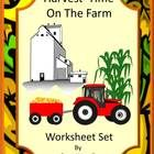 Farm: Fall is a busy time of the year for all of us. But on the farm, fall gets very busy. It is harvest time. Harvest Time on the Farm, Cut and Pa...