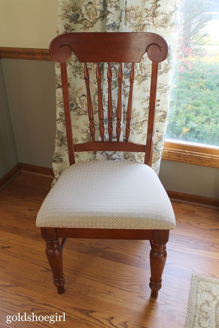 How to cover a dining chair seat - Seat Cover For Dining Room Chairs