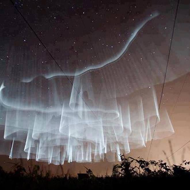 Aurora Borealis over Finland//