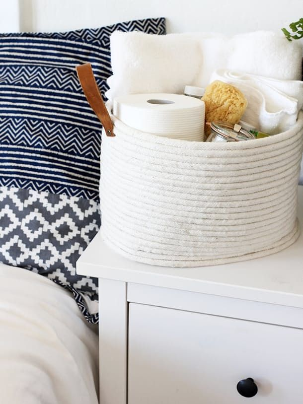 DIY Projects To Make House Guests Feel Welcome | Apartment Therapy