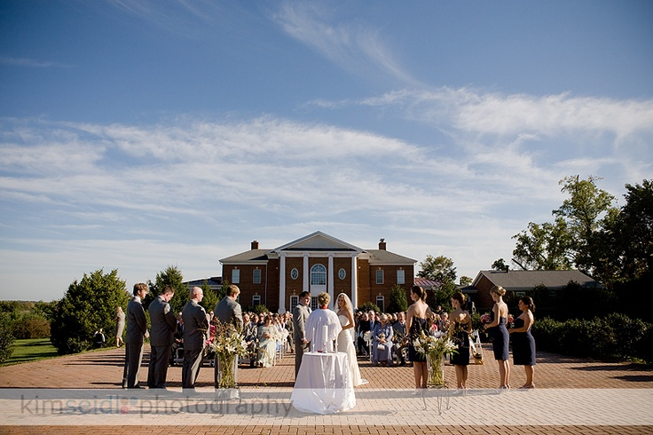 The Ceremony Site At Historic Rose Hill Manor. (http://www