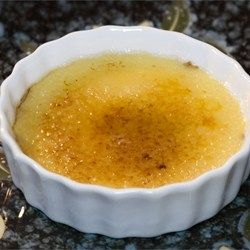 This classic creme brulee gets a seasonal twist with pumpkin puree, cinnamon, allspice, and nutmeg.