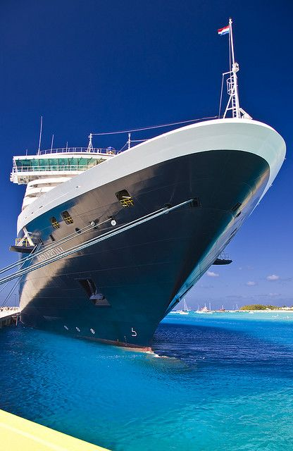 The magestic Holland American Line Westerdam docked at Grand Turk by Phil Comeau, via Phil Comeau Flickr