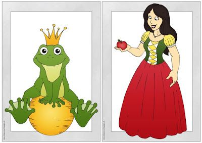 "Ideenreise: Flashcards/Wordcards ""Fairy tales"""