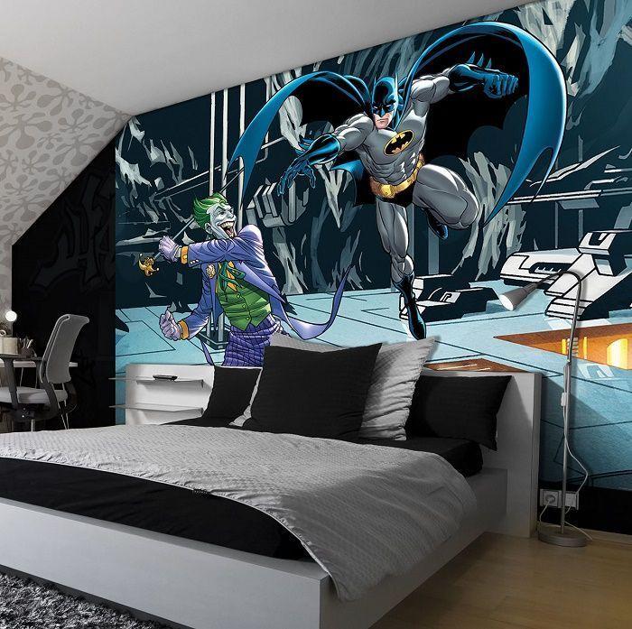 76 best mural disney images on pinterest child room for Batman mural wallpaper