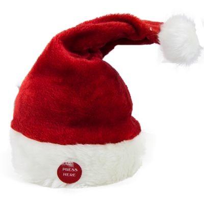 "14"" MUSICAL CHRISTMAS HAT"