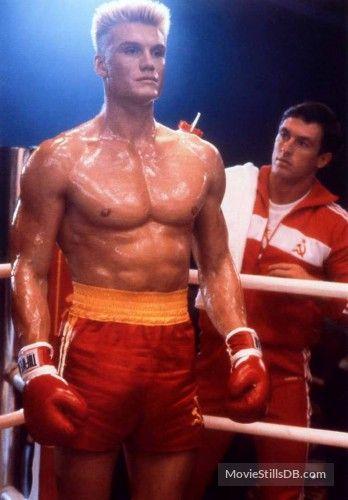 Rocky IV - Publicity still of Dolph Lundgren