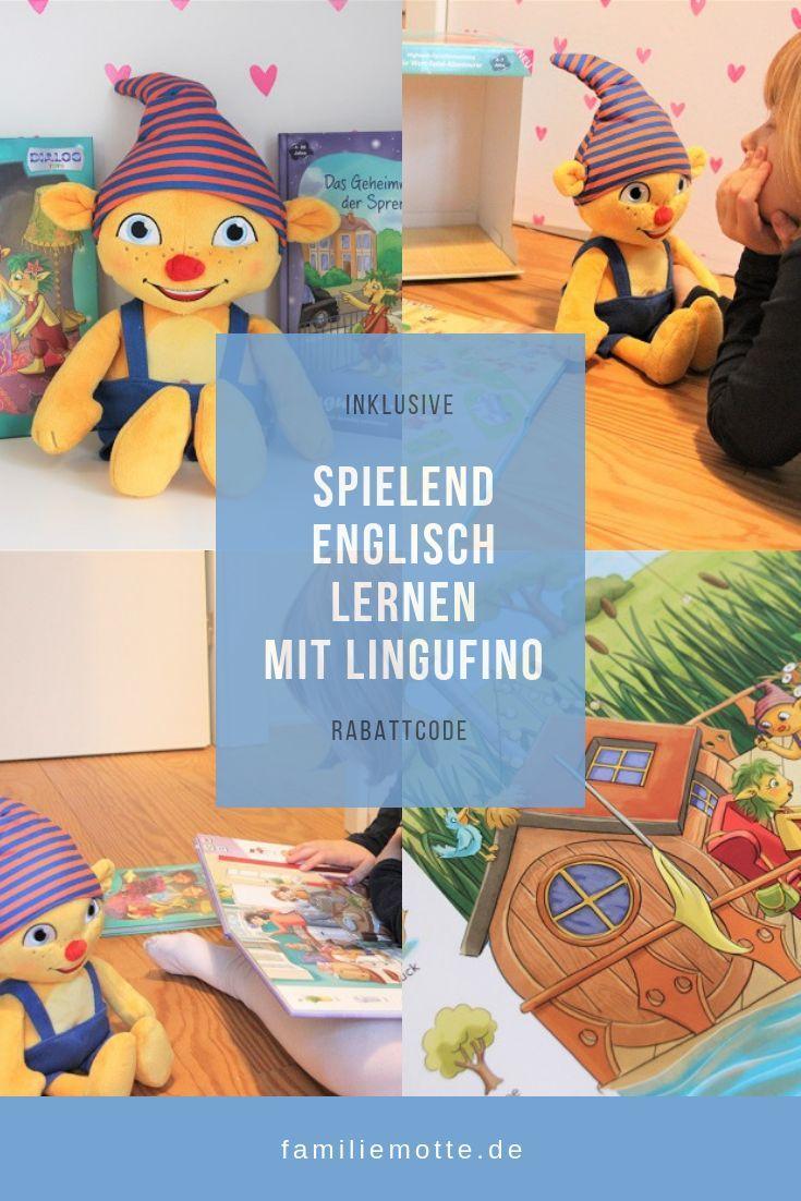 Spielend Englisch Lernen Mit Lingufino Englisch Lernen Lernen Und Kinderbucher