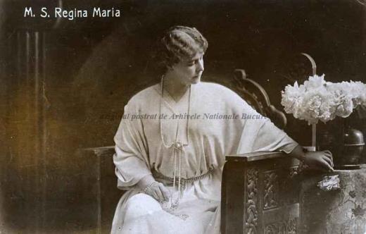 BU-F-01073-5-04625-8 Regina Maria a României, s. d. (sine dato) (niv.Document)