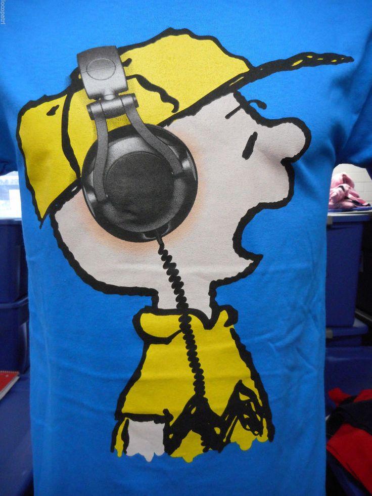 Mens Peanuts Brand Charlie Brown Shirt New XL #Peanuts #GraphicTee