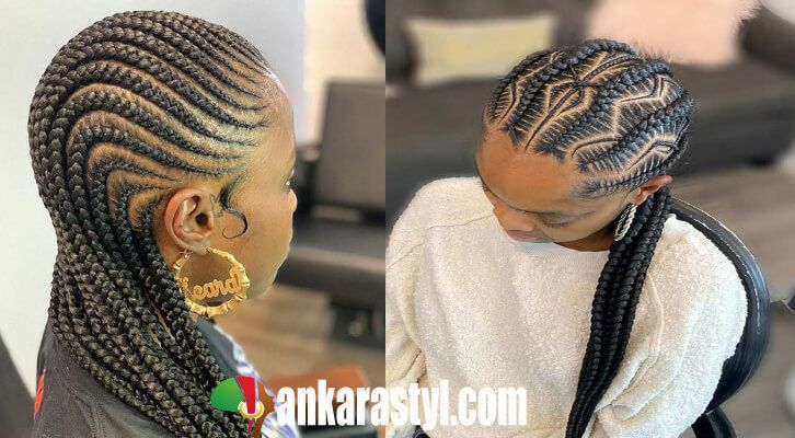 23 Best African Cornrow Braids Hairstyles 2020 Trends To Copy African Braids Hairstyles Hair Styles Braids Pictures