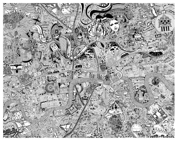 Incredible Map Of London Goes On Show   Londonist
