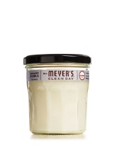 One of my favorite scented candles for the home. Love Mrs. Meyer's plain and simple as that! Lavender is my favorite scent too for the home.