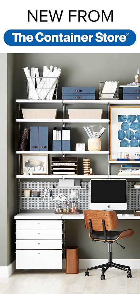 Wait Until You See The New Elfa Décor Drawer Fronts. Simple. Beautiful. And  · Storage SolutionsCloset SolutionsContainer StoreThe ContainerOffice Spaces Home ...