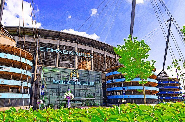 Etihad Stadium, Manchester; home of Manchester City FC