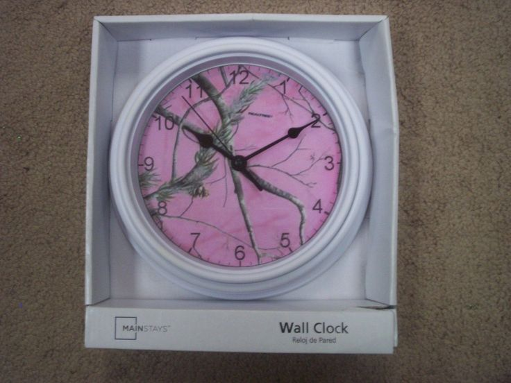 Realtree Pink Clock Camo Decoration Ladies Hunting picclick.com