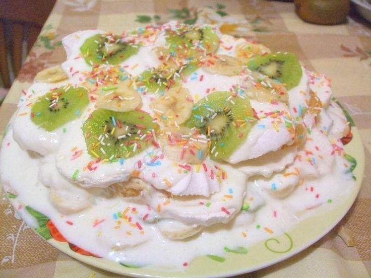 торт из зефира без выпечки с фото этом