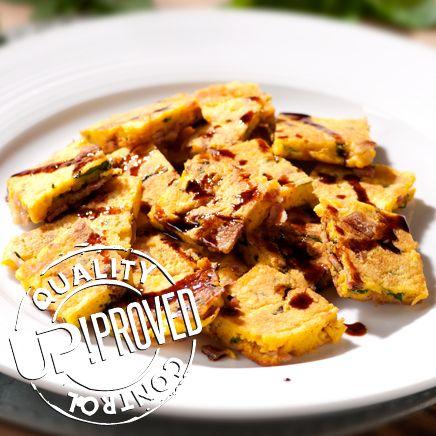 La ricetta di UP! Frittata di foglie di aglio orsino e menta