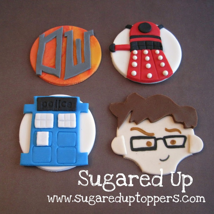 Doctor Who Party // Doctor Who Cupcakes