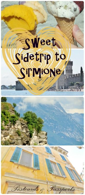 Sirmione is a wonderful little medieval town on the southern tip of Lake Garda in Italy. Easy to get to and a great halfway point between Venice and Milan!