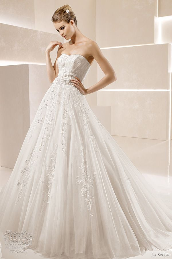 La Sposa Wedding Dresses 2012 — Glamour Bridal Collection | Wedding Inspirasi
